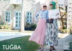 hijab fashion in tugba collection