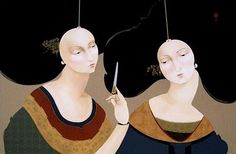 Domesticated Marionettes, Hayv Kahraman. Iraqi Artist