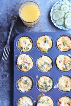 Terveelliset kananmunamuffinit - Tyrniä ja tyrskyjä Muffin, Food And Drink, Eggs, Keto, Baking, Breakfast, Morning Coffee, Bakken, Muffins