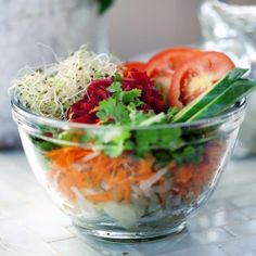 This delicious vegetarian dragon bowl will have you feeling full and satisfied while saving you calories.