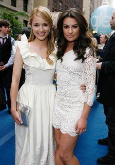 Dianna Argon and Lea Michele