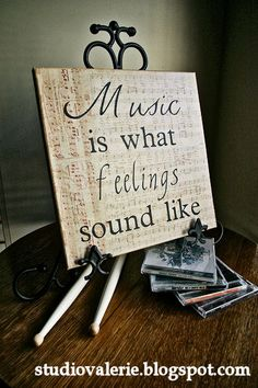 Music is what makes me, me. I don't think I ever go a day without singing.