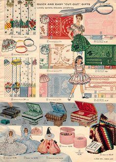 1956-xx-xx Sears Christmas Catalog P455 | Flickr: Intercambio de fotos En mi casa había una revista de disfraces parecida! Vintage Ephemera, Vintage Ads, Vintage Christmas Photos, Wayback Machine, Old Advertisements, Christmas Catalogs, Birth Year, Vintage Sewing Machines, Vintage Magazines