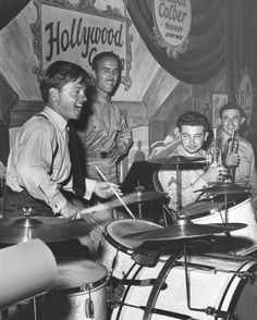 Historic Photograph of Mickey Rooney At Hollywood Canteen