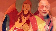 Dalai Lama. He's the leader of a type of Buddhism. He's won a Nobel Peace Prize.