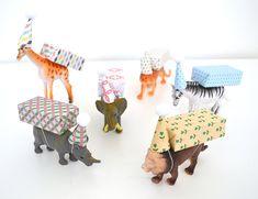 9x hippe traktaties voor kinderen - Howtomake.nl Birthday Treats, Party Treats, Baby Birthday, Animal Birthday, Party Gifts, Jungle Party, Baby Party, Diy For Kids, Crafts For Kids