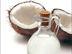 Óleo de Coco Natural Feito em casa