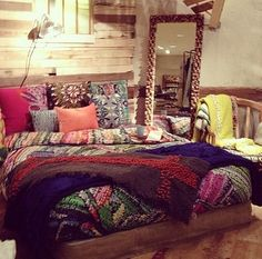 Perfect boho bedroom