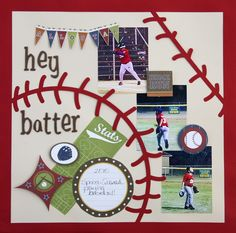 baseball scrapbooking ideas | visit google com