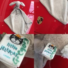 Found on 05 Mar. 2016 @ Porsche Centre Colchester, Auto Way, Colchester, . Found Little Jellycat Bunny Blanket. Gregory written on the Tag. Found in a Red Porsche Boxster in the Porsche Centre Colchester. Visit: https://whiteboomerang.com/lostteddy/msg/pcbyv6 (Posted by Richard on 18 Mar. 2016)