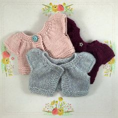 Cardigan/jumper for Dolls por TheDollsWardrobe en Etsy