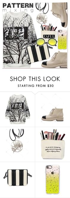 Pattern mixing by paculi on Polyvore featuring Casetify, ZeroUV and patternmixing