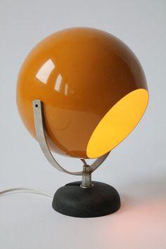 reggiani burnt orange eyeball table lamp nice tone of color eyeball table lampu2026