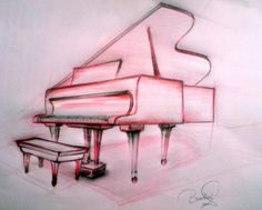 how to draw a piano - Google Search