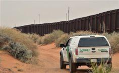 Resultado de imagen para pared entre mexico y estados unidos