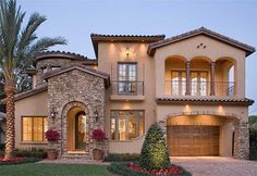 Plan W83376CL: Mediterranean, Photo Gallery, Luxury, Florida, Premium Collection, European House Plans & Home Designs