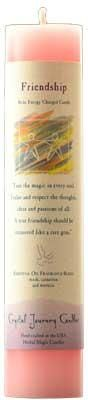 Friendship Reiki Charged Pillar Candle