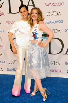 The CFDA Turns It Up on the Red Carpet - Anna Chlumsky and Cynthia Rowley