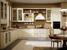 old english farmhouse kitchen | old country kitchen ideas - Google Search | Farmhouse Kitchen Ideas   yes please but with a double oven.
