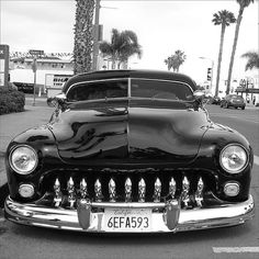 1949 Mercury (Always wanted one of these with finder skirts, flame job, glass pack mufflers and little white balls around windows.