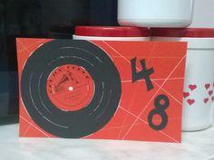 Sokkiksen räpellykset: Kaiken keskeltä Music card, card for a man, birthday card, vinyl record, diy Music Instruments, Cards, Musica, Musical Instruments, Map, Playing Cards, Maps
