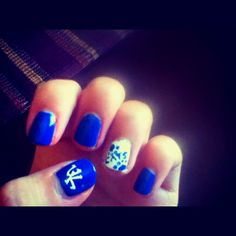 Uk Nails All Things Wildcats Pinterest Uk Nails Manicure And