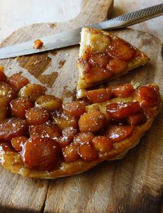 The idea of creating a savoury tarte tatin is not a new one, indeed we've been championing a beetroot version for a while now. However, this particular incarnation, using tender parsnips and caramelised shallots, is a real favourite.