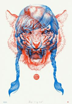 by Johnny Slocum    I just finished reading The Tiger's Wife last night, so this seemed oddly fitting.  A beautiful story.