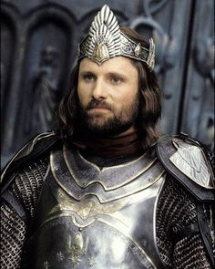 Le seigneur des anneaux - Aragorn roi - Viggo Mortensen