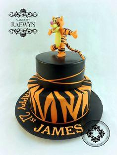 Tiger cake, love this!