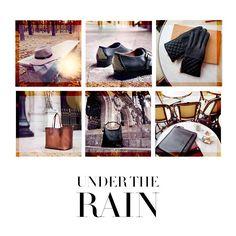 Under the rain.  @massimodutti , Zielo Shopping Pozuelo