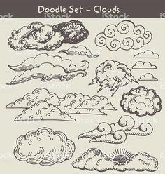 Image result for cloud doodle
