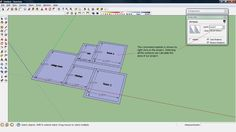 Sketchup Tutorials for Architectural Design: CALCULATE AREA OF BUILDING