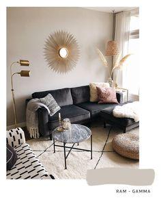 Interieur inspiratie: de mooiste muurkleuren – Mañana Mañana Living Room Color Schemes, House Made, Living Room Inspiration, Room Colors, Home Living Room, Sweet Home, Home And Garden, Couch, Interior Design