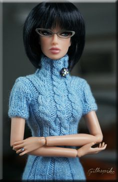 """""""Rio"""" - Fashion Royalty Monogram Doll - Dreamscape. I just adore these glasses on her. Silkspike Dolls."""