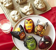 Team up with legendary superheroes as they battle evil, avenge dastardly deeds and spread dessert throughout the universe.