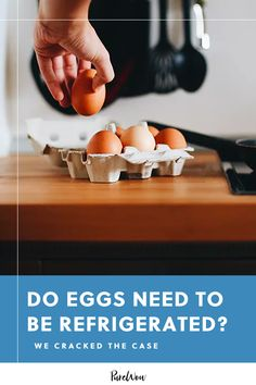 """Did you know most of the world leaves eggs out at room temperature?"""" and relocate your egg carton, there are a few caveats you should know about. Do eggs need to be refrigerated? Well, it's complicated. Cooking Eggs, Cooking Food, Cooking Hacks, Cooking Recipes, How To Make Eggs, Beginner Workout At Home, Workout For Flat Stomach, Aquafaba, Lose Weight At Home"""