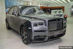 Rolls Royce Black, Rolls Royce Cullinan, Rolls Royce Motor Cars, V12 Engine, A Gear, Sexy Cars, Kuala Lumpur, Automatic Transmission, Mykonos