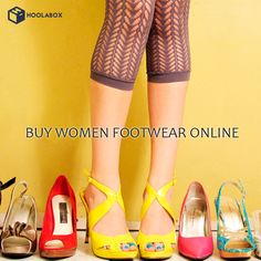 Buy Women's Footwear online at best prices. Explore huge range of branded Heels, Casual Shoes, Sandals, Slipper, Wedge, Flip- Flops, Flats, Peeptoe & more at Hoolabox. Best Online Shopping Store for Women's fashionable footwear.  Please Visit:- http://hoolabox.com/31-women-footwear
