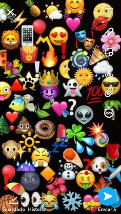 21 IDEAS PARA FOTOS EN SNAPCHAT CON EMOJIS - Fire Away Paris Emoji Wallpaper Iphone, Cute Emoji Wallpaper, Pop Art Wallpaper, Phone Screen Wallpaper, Iphone Background Wallpaper, Apple Wallpaper, Tumblr Wallpaper, Aesthetic Iphone Wallpaper, Cellphone Wallpaper