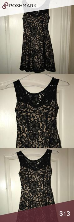 Party Dress Size 5 Small Black Party Dress Size 5 Small. Lace overlay. Great Dress only worn a few times. Dresses Mini