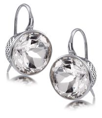 Ray Griffiths 12mm white topaz earrings. I am planning to get them in 18k yellow gold for my wedding!