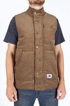 Great Outdoors Vest | Coalatree Jackets | Organic Clothing and Streetwear