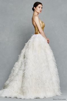 Kelly Faetanini Spring 2017 Wedding Dresses #bridal #wedding #weddingdress #weddinggown #bridalgown #dreamgown #dreamdress #engaged #inspiration #bridalinspiration #weddinginspiration #weddingdresses