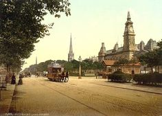 Old photos of Southport in Lancashire in England, United Kingdom of Great Britain Old Pictures, Old Photos, Kingdom Of Great Britain, England Uk, Travel England, British History, British Isles, Liverpool, Paris Skyline