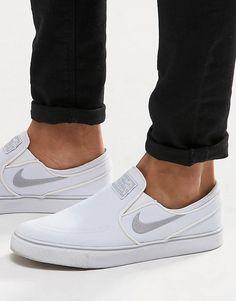 I NEED some Nikey ASAP. Nike+SB+Zoom+Stefan+Janoski+Slip+On+Trainers+831749-100