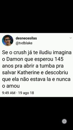 meu coração Frases Tvd, Damond Salvatore, The Orignals, The Mikaelsons, Hello Brother, Teen Wolf Stiles, Famous Books, Memes Status, Sad Day