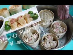 In this video I will teach you how to make special Siomai! Watch the video and find out what makes it special. Steam Buns Recipe, Bun Recipe, Pork Recipes, Asian Recipes, Ethnic Recipes, Chicken Pork Recipe, Siomai, How To Make Chili, Maila