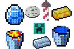Lego Minecraft Pixel Art - DIY