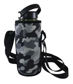 Don't forget your own water bottle while you walk the dog. Use this Wai World carrier to protect your bottle from dents and scratches. Available on Amazon now!